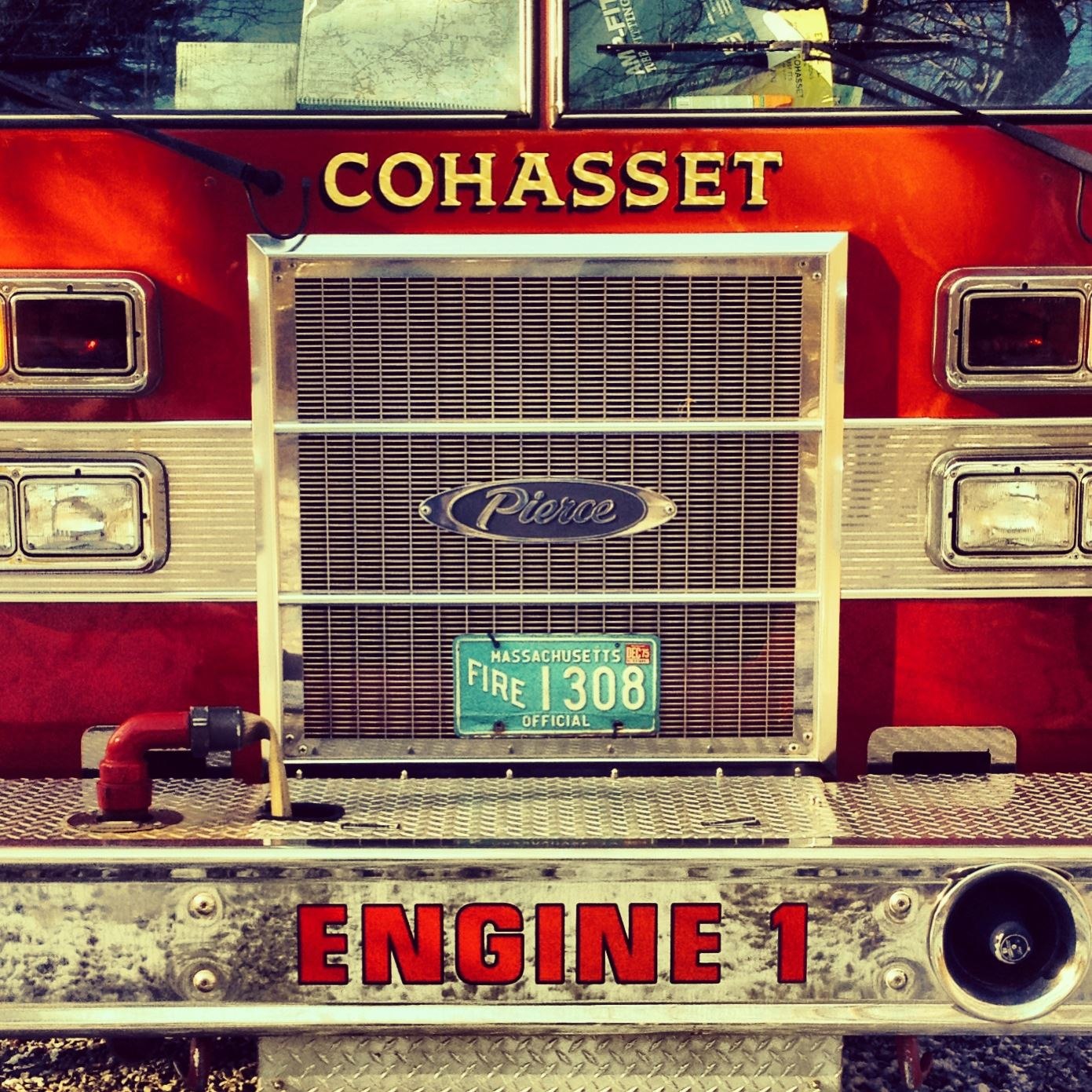 Fire Truck Front