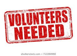 Volunteers Needed Image